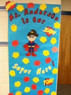 superhero door