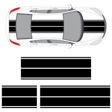 Mazda 2, 3, 5, or RX-7 Dual Rally Racing Stripes, 3M Double Stripe Decals