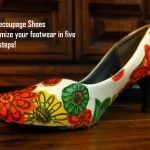 Best. Craft. Ever. DIY Decoupage Shoes