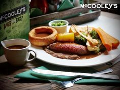 Two-Course Sunday Lunch for Two (£15) or Four People (£30) with Starter and Main Course