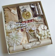 Pretty Wrapping Package