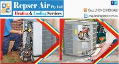 The needs for professionals are high in both summer and winter season. Maintenance of air conditioner and heating services in Melbourne can be achieved with the help of Repser Air. The company is equipped with trained professionals who are dedicated to serve customers at reasonable rate. Address: 26 folger rd,craigieburn, Victoria 3064 Phone no. (03) 9308 3460