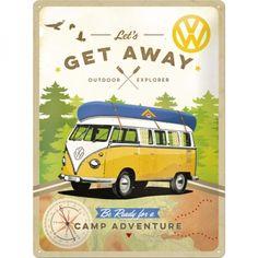 Genuine VW Splitty Camper Van Cotton Shopping Bag Gift Tote Christmas Gift Xmas
