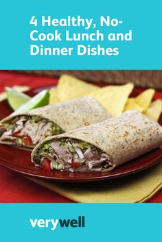 Who has the time and energy to stand over a hot stove? Whip up these portable, healthy no-cook lunch and dinner recipes in no time! Healthy Soup, Healthy Cooking, Healthy Snacks, Dinner Dishes, Dinner Recipes, Lunches And Dinners, Meals, Low Carb Recipes, Healthy Recipes