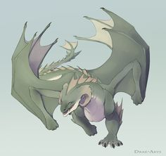 Quick Drakhan Sketch 2 - Dumas by Drak-Arts on DeviantArt Fantasy Monster, Monster Art, Magical Creatures, Fantasy Creatures, Dragon City, Cool Dragons, Fantasy Beasts, Dragon Images, Dragon Artwork