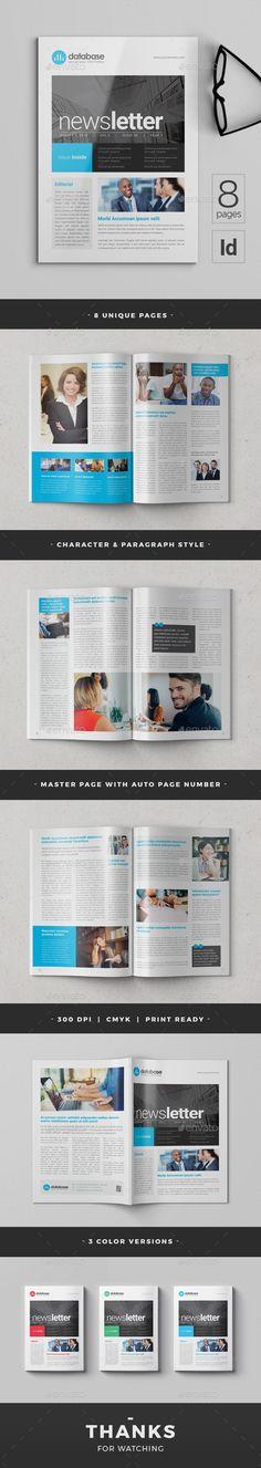 #Newsletter - Newsletters Print Templates Download here: https://graphicriver.net/item/newsletter/20117455?ref=alena994