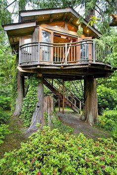 Cool Modern Tree House, my ideal place to live