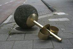 Street Jewelry Installations By Liesbet Bussche