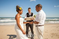 Ocean City Maryland Wedding Minister Sean Rox is the Officiant for this beach ceremony in OC MD:  https://www.roxbeachweddings.com/