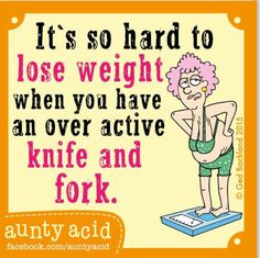 So hard to lose weight...
