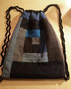 Pathwork, Quiltet Bag. made by Rikke Svendsen.