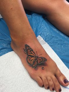 Reality Tattoo 3D Butterfly