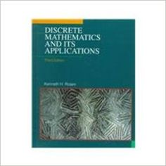 Discrete Mathematics and Its Applications: Kenneth H. Rosen: 9780070539655: Books - Amazon.com