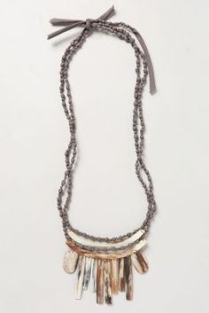 Legend & Song Daylight Horn Necklace