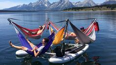 You Can Now Float Down a River in Your Hammock