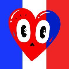 Je Suis Charlie Hommage à Charlie Hebdo - Supapanda #illustration #jesuischarlie #CharlieHebdo Hattie Stewart