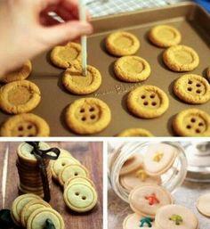 Sooo cool button coockies :)