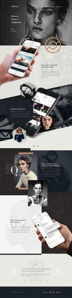 Treauu Web Design #MobileWebDesign