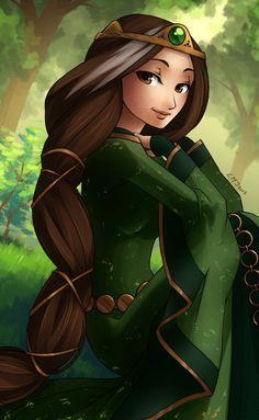 Queen Elinor from Brave Disney Pixar, Walt Disney, Disney Girls, Disney And Dreamworks, Disney Cartoons, Disney Animation, Disney Love, Disney Magic, Disney Characters