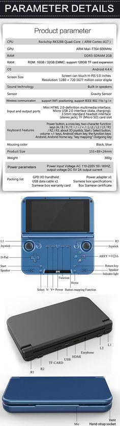 gpd xd | GPD XD, una Consola de 5 Pulgadas | Noticias y Reviews de Hardware y ...