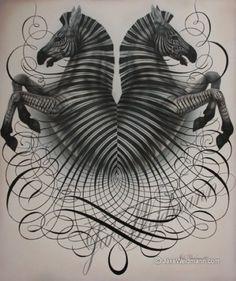 Zoomorphic — Jake Weidmann • Calligraphy • Letter Design