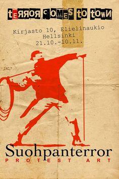 Suohpanterrora čájáhus Helssegis 21.10.-10.11.2013