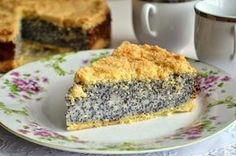 German poppy seed cheesecake Ingredients Dough: Flour — 300 g Butter — 130 g Sugar — 100 g Filling: Milk — 750 ml Sugar — 150 g Unsalted butter Cheesecake Recipes, Dessert Recipes, Food Photo, Sweet Recipes, Banana Bread, Bakery, Food And Drink, Cooking Recipes, Cooking Cake