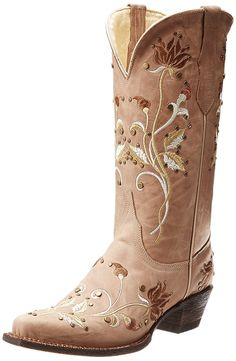 Ferrini Women's Desert Bloom Western Boot -- Continue to the product at the image link.