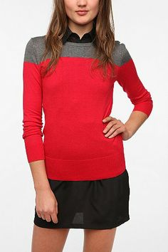 Coincidence & Chance Jane Colorblock Pullover Sweater  Urban Outfitters