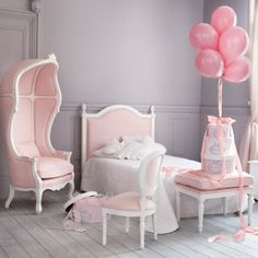 Chambre d'enfant : les plus jolies chambres de petites filles : Une vraie chambre de princesse - Maisons du Monde - Déco - Plurielles.fr: