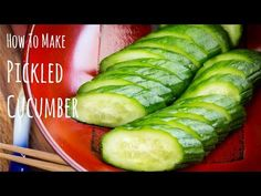 Crunchy and refreshing Japanese pickled cucumber made with just a few simple ingredients: salt, sugar, and Japanese mustard.