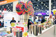 OOW Oracle OpenWorld 2012 Candy Bar trade show booth idea by MotivatedModels, via Flickr
