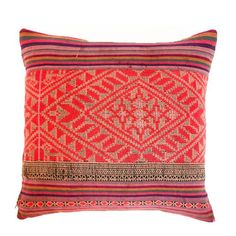 Vintage Yao Throw Pillow on Chairish.com