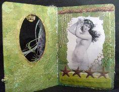 Altered Board Book :: Sea Dreams - Inside Cover
