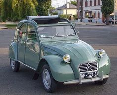 My Dream Car, Dream Cars, French Icons, 2cv6, Automotive Design, Old Cars, Fiat, Motor Car, Cars And Motorcycles