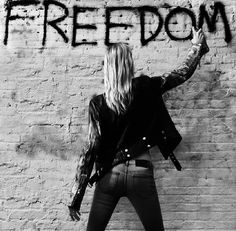 Freedom is when you let go of any Attachments and Live for you by your own Rules #DoYou #rebelheart #edgygirls