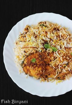 fish biryani recipe with step by step pictures - aromatic delicious hyderabadi dum biryani recipe made with fish, is best when served with a onion raita.
