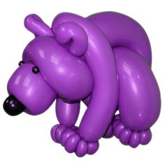 Purple Violet Entries 1st Place Balloon Bear Patrick van de Ven Apeldoorn, Netherlands