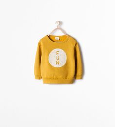 PRINTED SWEATSHIRT-Sweatshirts-Baby boy (3 months - 3 years)-KIDS | ZARA United States