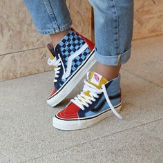 The 100 Most Iconic Vans Sneakers Ever Sock Shoes, Vans Shoes, Cute Shoes, Me Too Shoes, Shoe Boots, Shoes Sneakers, Sneakers Fashion, Looks Style, My Style