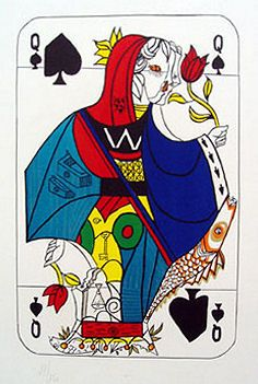 Salvador Dali, Queen of Spades