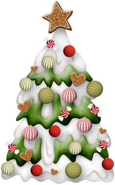 CHRISTMAS RED AND LIME GREEN CHRISTMAS TREE