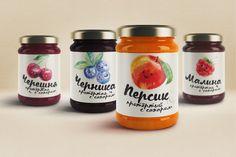 Astrafood (confitures de fruits) | Design : Artem Gorchakov, Russie (mai 2016)