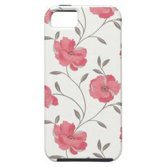 IPhone 5 case - Beautiful coral flowers