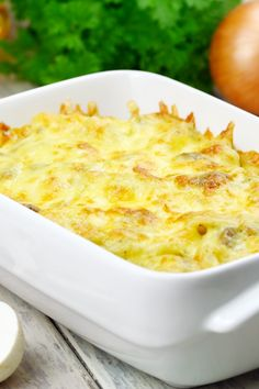 Hot Onion Dip 3 package (8 ounces each) cream cheese, softened 1 onion, finely chopped 2 cup parmesan cheese, grated 1⁄2 cup mayonnaise