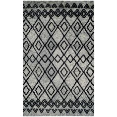 Casablanca Gray/Charcoal (Gray/Grey) 6 ft. x 9 ft. Area Rug