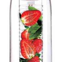 The best fruit infused water bottles and pitchers available. These infusers make creating flavored water recipes easier. Dishwasher safe and table ready. Fruit Infused Water, Infused Water Bottle, Water Bottles, Infused Waters, Bottled Water, Fruit Water Bottle, Flavored Waters, Bottle Bottle, Water Glass