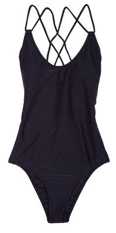 Un maillot de bain une pièce Volcom / One-piece swimsuit Volcom