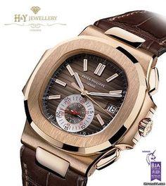 Patek Philippe Nautilus Chronograph Rose Gold - ref 5980R-001