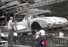 1958 Corvette Body Drop